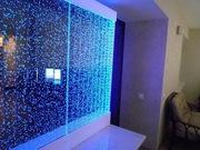 АКВАСИСТЕМЫ:водопады по стеклу, по струнам, пузырьковые панели, колонны