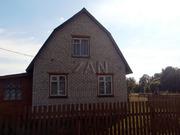 Продаётся новый двухэтажный кирпичный дом в деревне