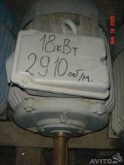 Электродвигатель 18, 5квт 2910обмин