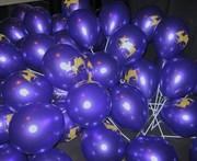 Печать на шарах,  надувка шаров гелием,  воздухом,  раздача шаров