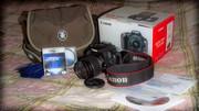 Продам. Canon 500D Kit,  Фотосумка,  Flash 8Gb 10class,  2-а светофильтра