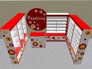 Дизайн-проект торговых точек,  отделов,  магазинов в 3D.
