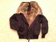 Куртка на кроличьем меху Westland размер S