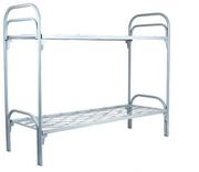 Кровати металлические одно- и двухъярусные,  койки армейские железные для строителей,  рабочих,  общежитий,   домов отдыха,  турбаз и др