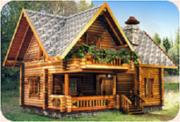 Изготовим и доставим комплект деревянного дома.