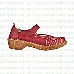 Цветная испанская обувь мелким оптом