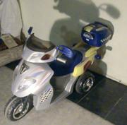 Мотоцикл детский электрический