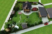 дизайн проект садового участка   в Перми - Patrik Grin