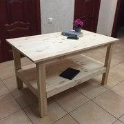 Журнальный столик (ручная работа). Материал: сосна