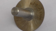 Фреза дисковая отрезная 40 х 0, 2 мм.  ;   2Р6МГ.