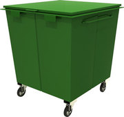 Контейнеры для мусора металлические с крышкой