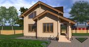 Строительство,  проектирование деревянных домов