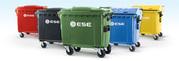 Контейнеры для мусора (ТБО) пластиковые