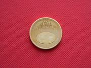 Продам монетовидный памятный жетон.