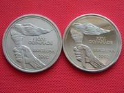 Памятные жетоны к Олимпиаде в Барселоне.