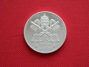 Памятные монетовидные жетоны посвящённые Ватикану.