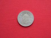 Памятный монетовидный жетон посвящённый Гёте.