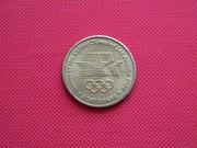 Монетовидный жетон Гимнастика. Лос Анджелес-84.