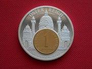 Памятные монетовидные жетоны Евросоюз